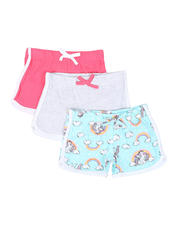 Girls - 3 Pack Shorts (2T-4T)-2465389