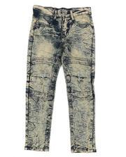 Boys - Cut & Sew Washed Stretch Jeans (8-18)-2465193