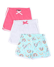 Bottoms - 3 Pack Shorts (7-16)-2465410