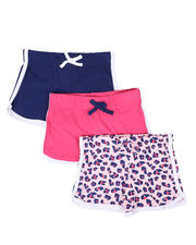 Girls - 3 Pack Shorts (4-6X)-2465255