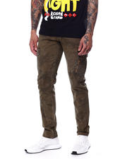 Pants - Believe Taper Slim Cargo Pant w Zip Pocket-2437587