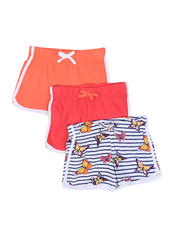 Girls - 3 Pack Shorts (4-6X)-2465229