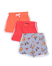 Girls - 3 Pack Shorts (7-16)-2465238
