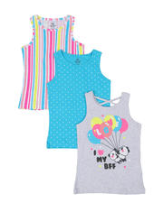 Girls - 3 Pack Tanks (7-16)-2465509