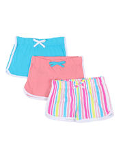 Girls - 3 Pack Shorts (4-6X)-2465217