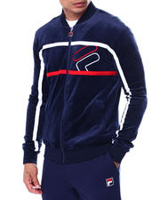 Fila - Kacen Velor Warmup Jacket-2465817
