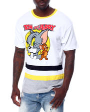 FREEZE - Tom and Jerry Bottom Stripe Tee-2466947