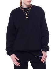 Sweatshirts - C'ESTE LA VIE PARIS FRENCH TERRY OVERSIZED PULLOVER-2466189