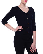 Almost Famous - Ruched Cardigan-2466583