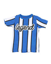 Sizes 2T-4T - Toddler - Vertical Striped Tee W/ Legend Script (2T-4T)-2466531