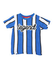 Sizes 4-7x - Kids - Vertical Striped Tee W/ Legend Script (4-7)-2466545