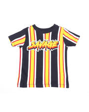 Sizes 2T-4T - Toddler - Vertical Striped Tee W/ Savage Script (2T-4T)-2466598