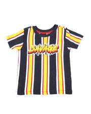 Sizes 4-7x - Kids - Vertical Striped Tee W/ Savage Script (4-7)-2466612