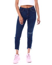 Jeans - High Waisted Stretch 5 Pocket Skinny Jean-2466506