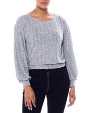 Almost Famous - Pullover W/Blouson Sleeves-2466550