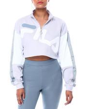 Fila - Kaia 1/2 Zip Crop Sweatshirt-2466677