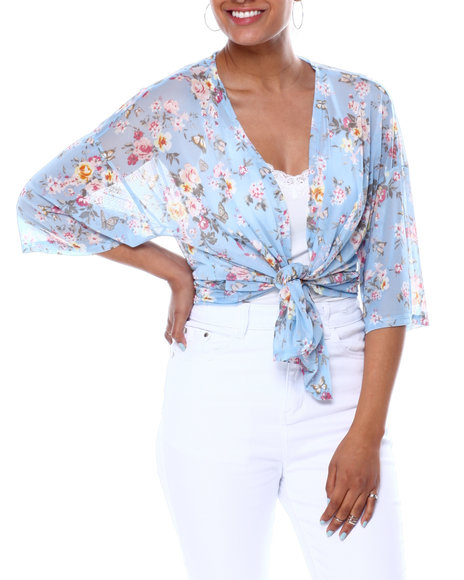 Almost Famous - Kimono 2Fer W/Vnk Cami