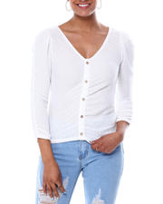 Almost Famous - Ruched Cardigan-2466569