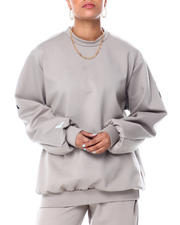 Sweatshirts - C'ESTE LA VIE PARIS FRENCH TERRY OVERSIZED PULLOVER-2466168