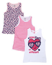 Girls - 3 Pack Tanks (7-16)-2465469