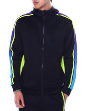 Buyers Picks - Gradation Stripe Zip Hoody-2467539