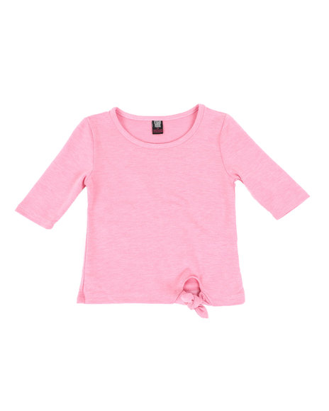 La Galleria - French Terry Tunic Tee (2T-4T)