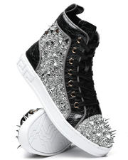 Stylist Picks - Spiked Metallic High Top Sneakers-2467256