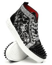 AURELIO GARCIA - Sequin Studded Mid Sneakers-2467303