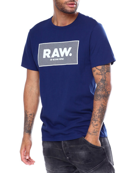 G-STAR - Boxed Raw Logo Tee