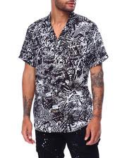Shirts - Jungle Cheetah Print  SS Buttondown Shirt-2467890