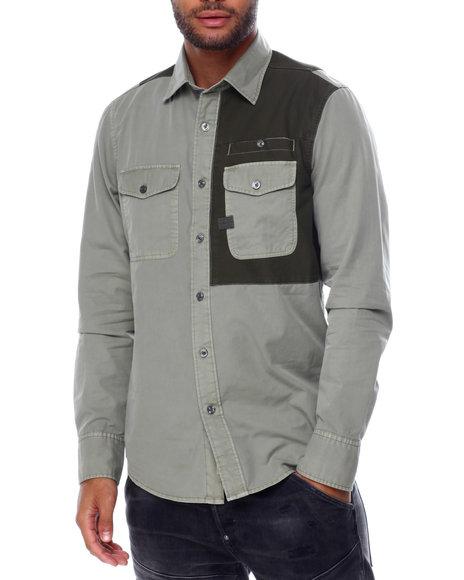 G-STAR - Strek slim shirt ls Buttondown
