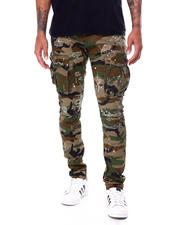 Pants - Slim Distressed Cargo Pant-2468071