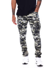 Pants - Slim Distressed Cargo Pant-2468116