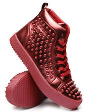 AURELIO GARCIA - Metallic Studded Sneakers-2467169