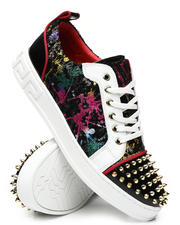 AURELIO GARCIA - Sequin Studded Low Sneakers-2467228