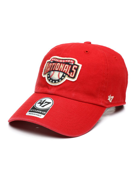 '47 - Washington Nationals McLean 47 Clean Up Strapback Hat