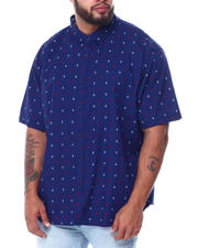Buyers Picks - All Over Anchor Print Short Sleeve Woven Shirt (B&T)-2467159