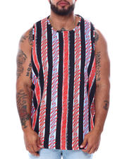 Buyers Picks - Men's Stripes Tank Top (B&T)-2468484
