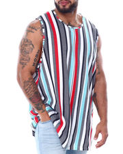 Buyers Picks - Men's Stripes Tank Top (B&T)-2468537