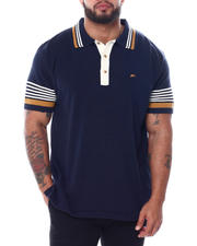 A Tiziano - Aston Short Sleeve Knit Polo Shirt (B&T)-2468439