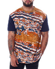 A Tiziano - Tom Short Sleeve Rotary Print T-Shirt (B&T)-2468461