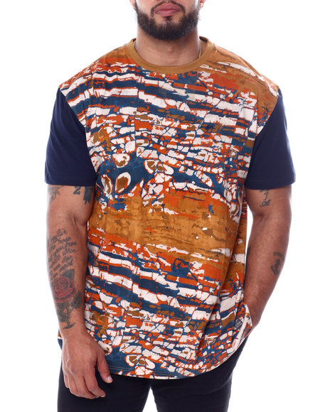 A Tiziano - Tom Short Sleeve Rotary Print T-Shirt (B&T)