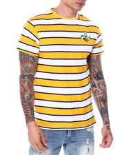 Shirts - Stripe Tee w Ice Cream Embroidery-2468680