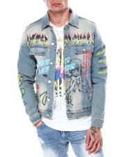 Lifted Anchors - Carnival Denim Jacket-2468963