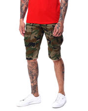 SMOKE RISE - Cut off Cargo Short-2468715