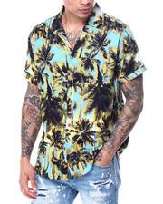 Shirts - Palm Tree SS Buttondown Shirt-2468754