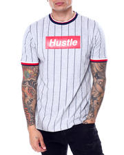Shirts - Pinstripe Hustle Box Logo Tee-2468844