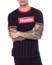 Shirts - Pinstripe Hustle Box Logo Tee-2468862