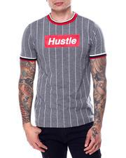 Shirts - Pinstripe Hustle Box Logo Tee-2468884