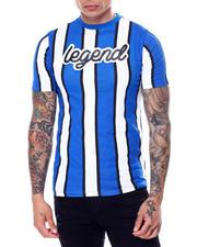 Shirts - Vertical Stripe Legend Script Tee-2468921